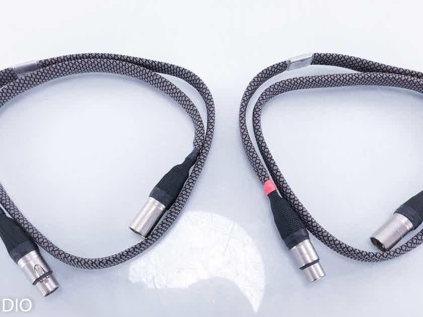 Verastarr Grand Illusion Signature XLR Cables 1m Pair Balanced Interconnects (15741)