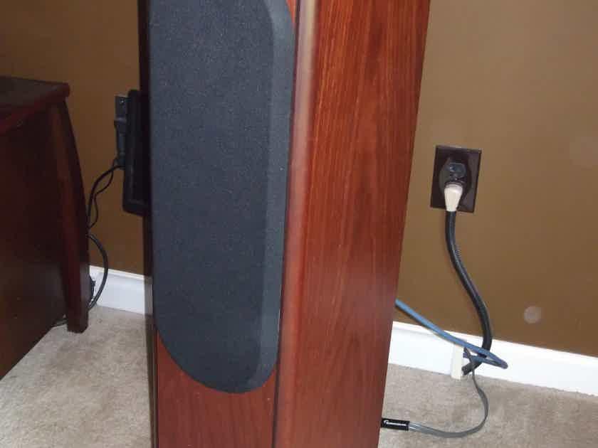Bowers & Wilkins CDM-7NT NAUTILUS TWEETER Stereo Speaker pair Rosenut CENTER SPEAKER ALSO-Made in England