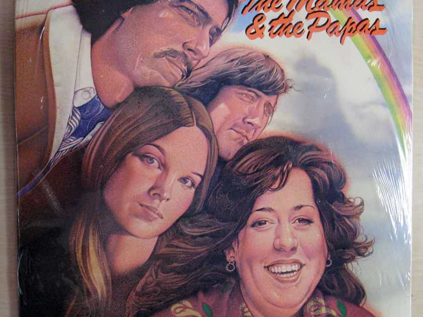 The Mamas & The Papas - The Mamas & The Papas - SEALED Double LP Time Life Records MSM 35084