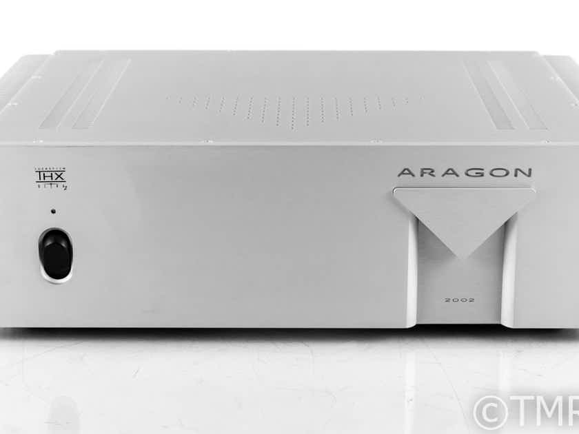 Aragon 2002 Stereo Power Amplifier; Mondial; Klipsch; Silver (22703)