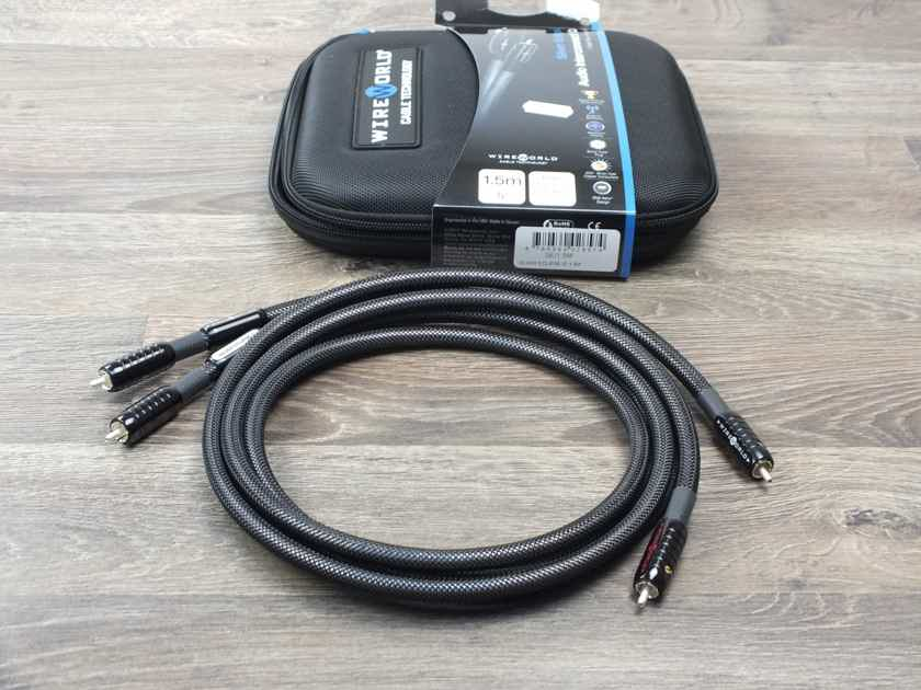 Wireworld Silver Eclipse 7 interconnects RCA 1,5 metre BRAND NEW