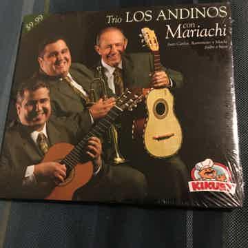 Trio Los Andinos  Con mariachi Cd sealed new Kikuet 2005
