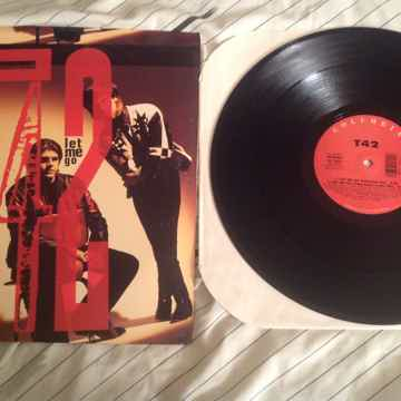 T42 Let Me Go Columbia Records 4 Track 12 Inch EP
