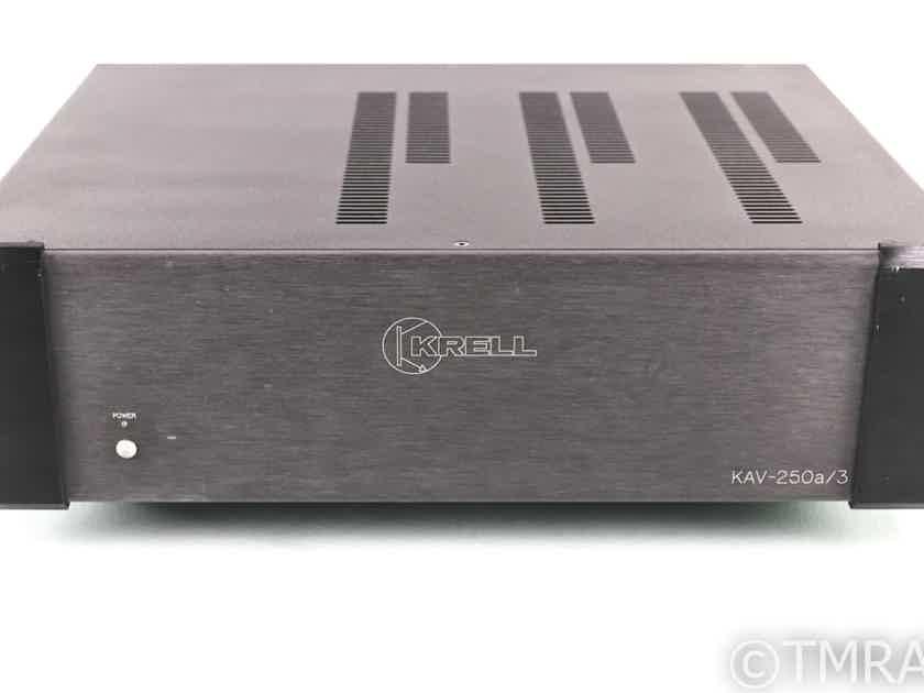 Krell KAV-250a/3 3 Channel Power Amplifier; KAV250a/3 (28737)