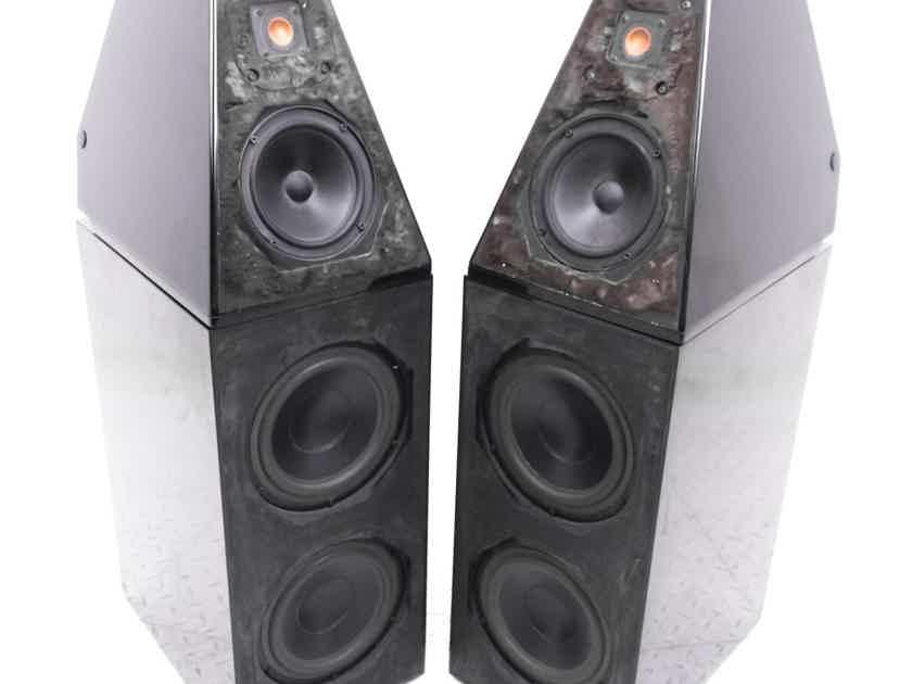 Wilson Audio WATT 2 / Puppy 1 Floorstanding Speakers; Gloss Black Pair (21383)