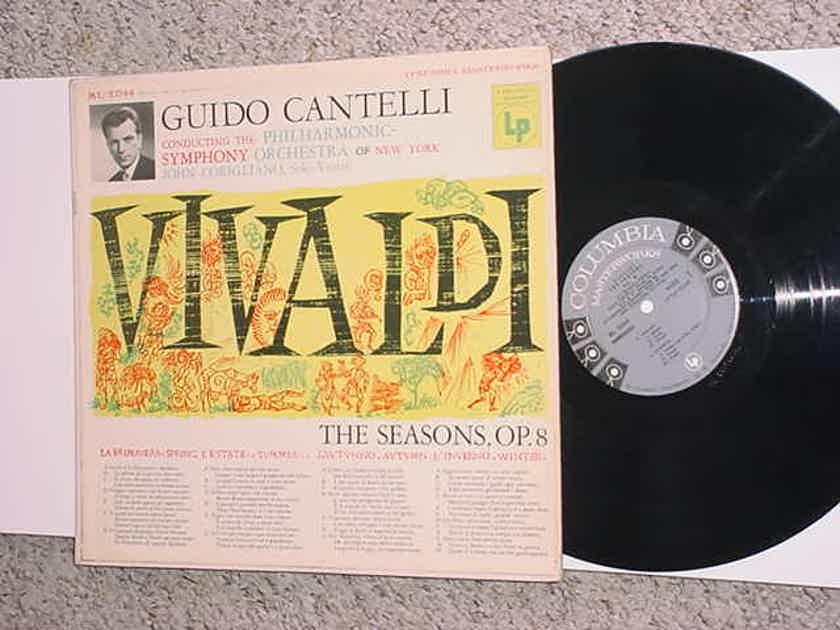 Guido Cantelli the seasons op8 VIVALDI LP Record Corigliano solo violin see add