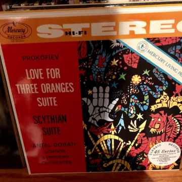 Love For Three Oranges Classic 180 Gram