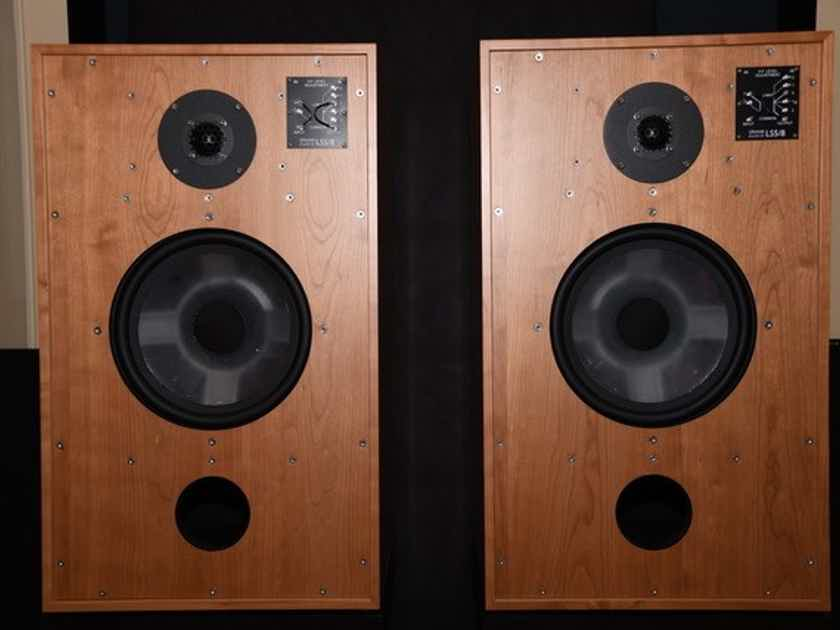 Graham audio  LS5/8 cherry speakers Mint customer trade-in