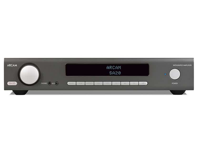 ARCAM SA20 Integrated Amp (Black): Excellent DEMO; Full Warranty; 30% Off; Free Shipping