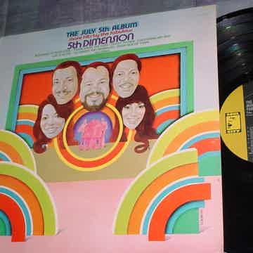 5th Dimension lp record the July 5th album STEREO