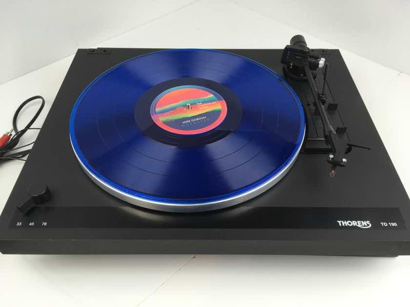 Thorens TD-190 Automatic Turntable with NEW Grado