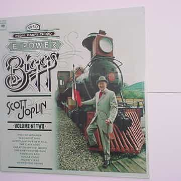SEALED E Power Biggs lp record Scott Joplin volume two pedal harpsichord