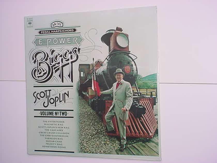 SEALED E Power Biggs lp record Scott Joplin volume two pedal harpsichord