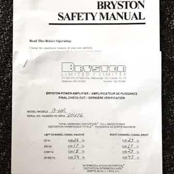 Bryston B-60r