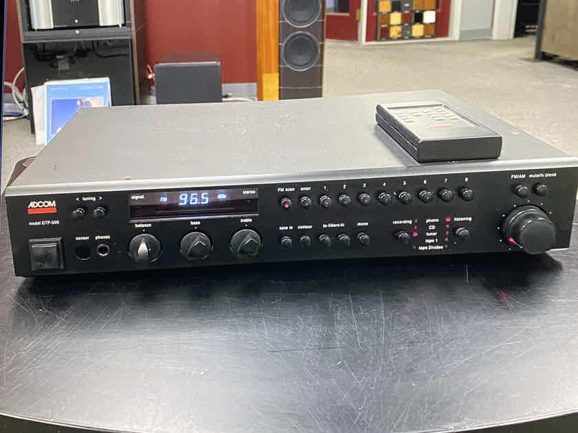 Adcom GTP-500 Tuner/Pre Amplifier w/Remote