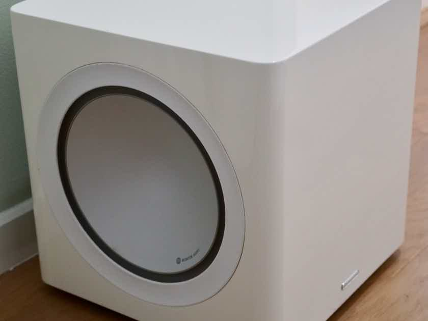 Monitor Audio Radius 390 Compact Powered Subwoofer (High Gloss White) w Free Shipping!