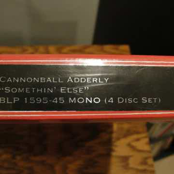 Cannonball Adderley  Somethin' Else -Classic Records MO...