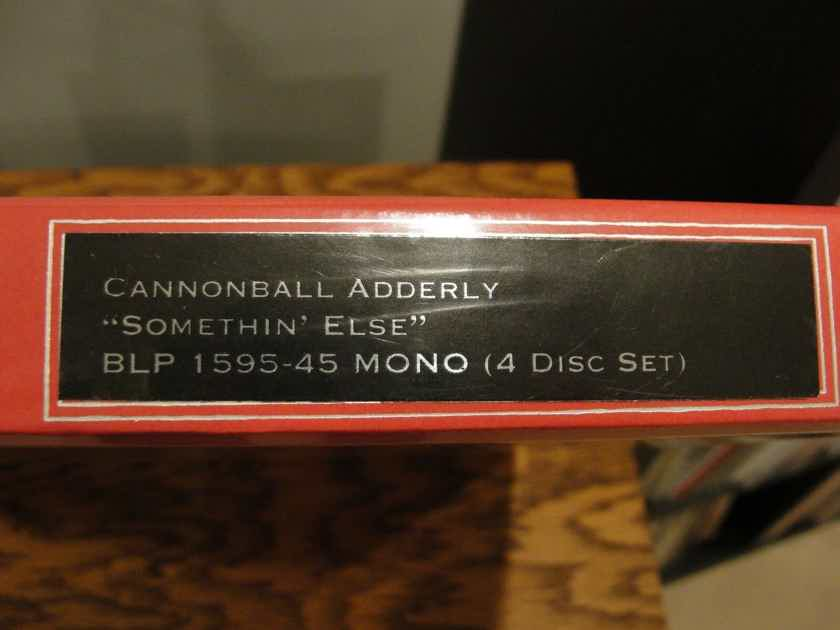 Cannonball Adderley  Somethin' Else -Classic Records MONO Clarity Vinyl 4 45 P S