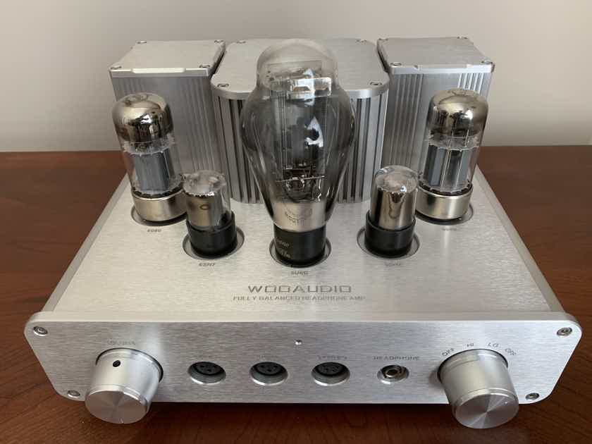 Woo Audio Wa22 with Upgraded Tubes