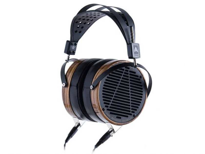 Audeze LCD-3 Fazor Planar-Magnetic Over-Ear Headphones, Zebrano Wood , Leather