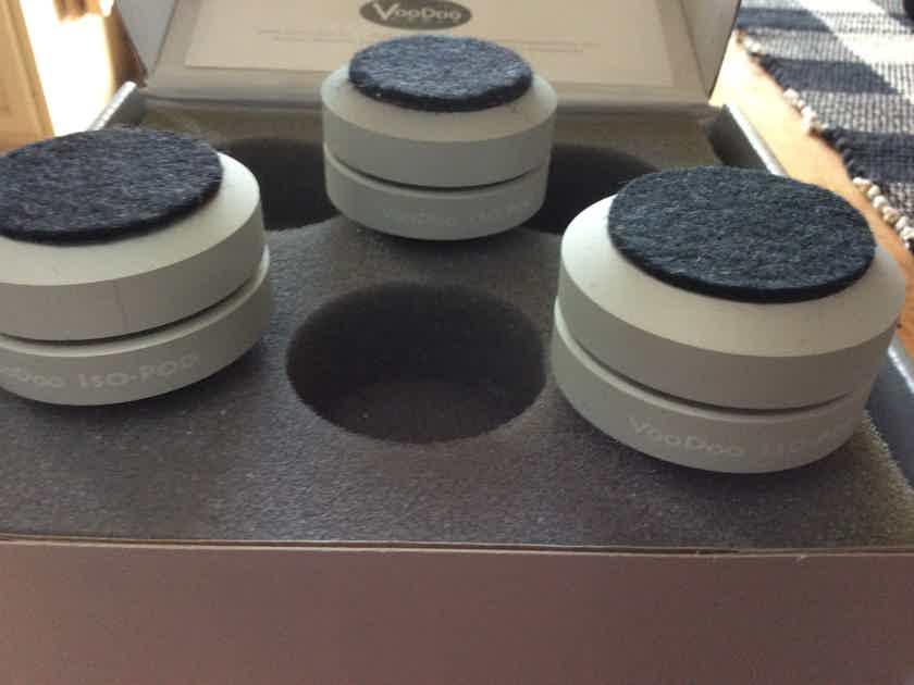 VooDoo Iso-Pod Vibration Isolation Footers