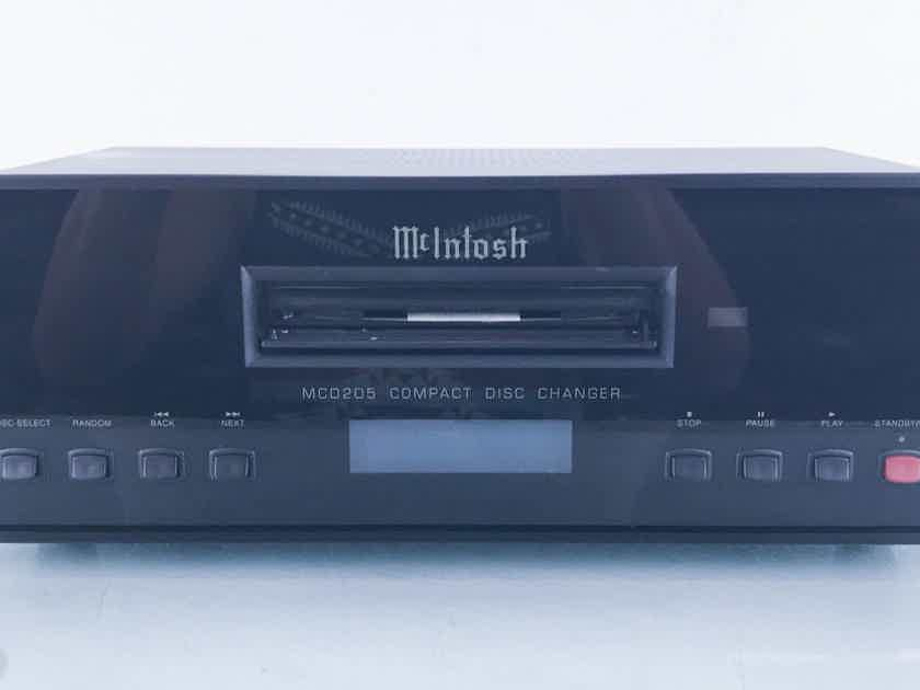 McIntosh MCD205 5 Disc CD Changer / Player Remote (13774)