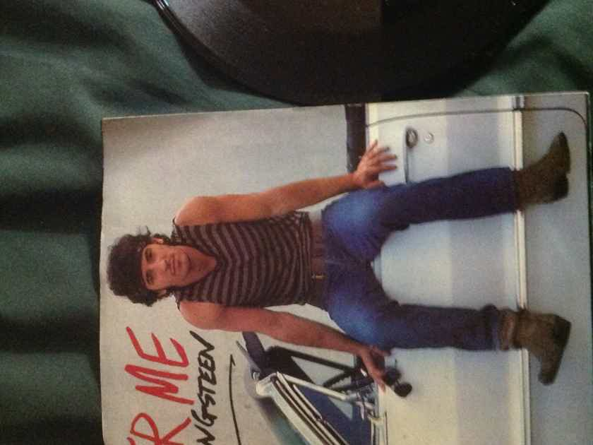 Bruce Springsteen - Cover Me Columbia Records 45 Single With Picture Sleeve Vinyl NM