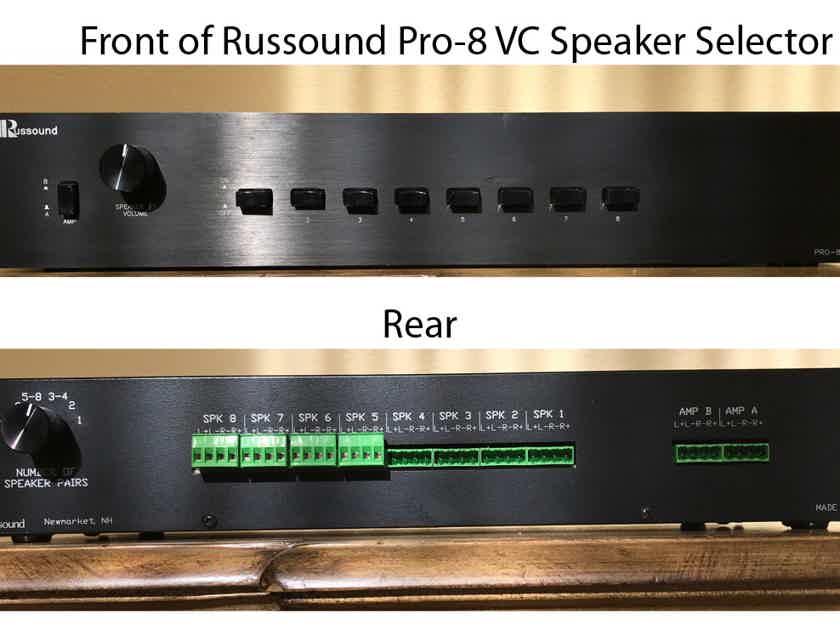 Russound PRO-8HP Speaker Selector