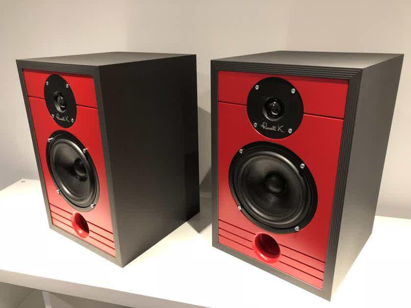 Russell K Red 100 bookshelf loudspeakers