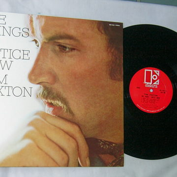 TOM PAXTON -- THE THINGS I NOTICE NOW--