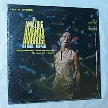 AMANDA AMBROSE - THE AMAZING AMANDA AMBROSE   - RARE