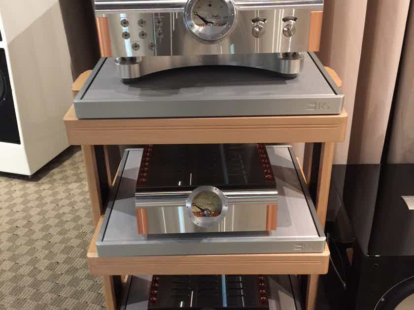 Harmonic Resolution Systems S1 Platform in Silver and black finishes in stock.