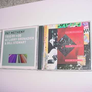 Pat Metheny 2 cd's trio 99-00 Larry Grenadier  & Bill Stewart and question answer