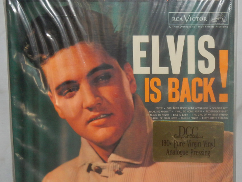 Elvis - Elvis is Back!   DCC Records pressed in 1997 - Sealed / NEW
