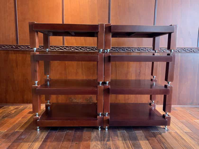 (8 shelves) 100% natural ash wood for AMP Mcintosh, Krell,Pass Lab,Mark Levinson (8 shelves)
