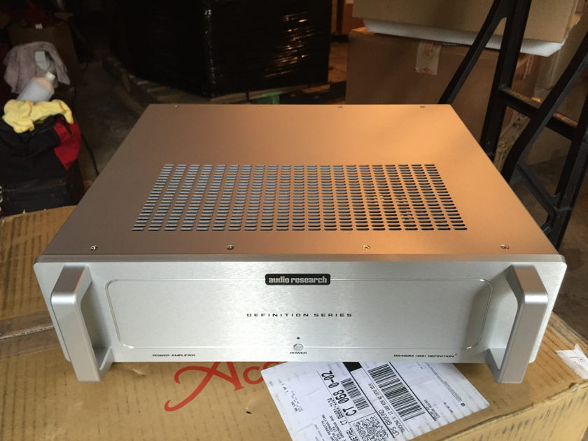 Audio Research DS450M mono amps Like new customer trade-in