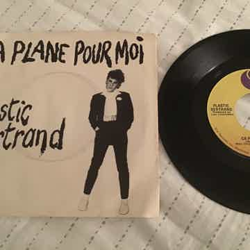 Plastic Bertrand Sire Records 45 With Picture Sleeve  Ca Plane Pour Moi