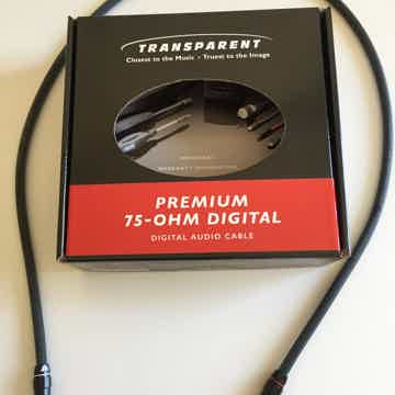 Transparent Audio Premium RCA Digital