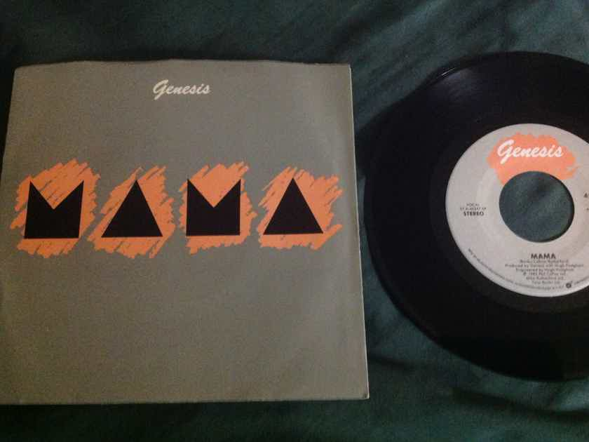 Genesis - Mama/It's Gonna Get Better Atlantic Records 45 Single With Picture Sleeve Vinyl NM