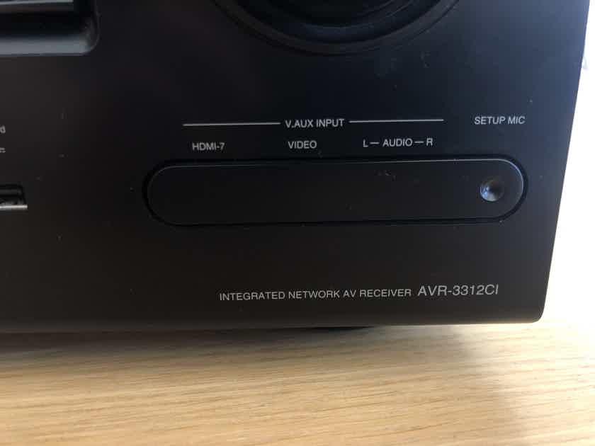 Denon AVR-3312CI - 7.2ch Integrated Network A/V Receiver