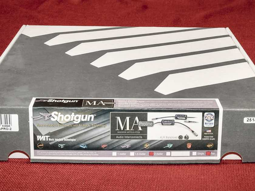 MIT Shotgun MA  Balanced Interconnect - 2M pair
