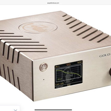 Gold Note PH-10 Phono Stage  With PSU-10 external power supply Dealer demo