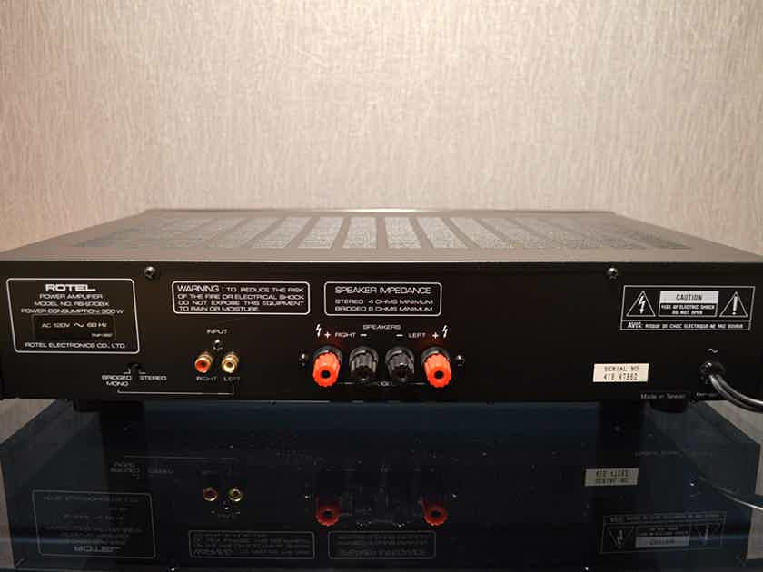 Rotel RB-970BX, 2-Channel Power Amplifier