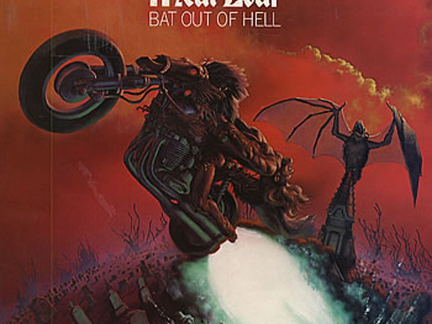 Meat Loaf - Bat Out of Hell - CBS Mastersound Half Speed Master - Sealed