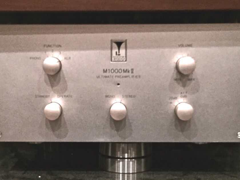 Kondo AudioNote Japan M1000 mk II Cost no Object Pre !