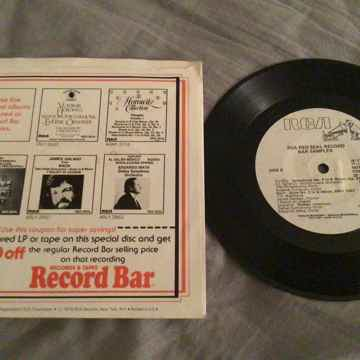 RCA Record Bar Sampler