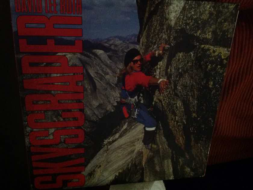David Lee Roth(Van Halen) - Skyscraper Warner Brothers  Germany Vinyl  LP NM 1A 1B Stampers