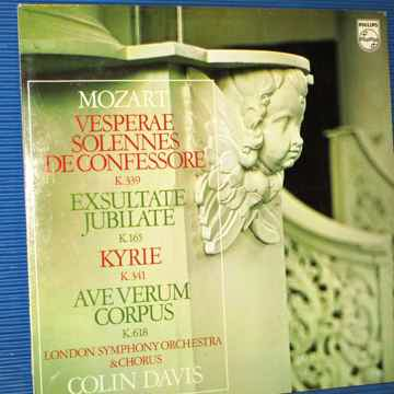 """MOZART / Davis / LSO Orch & Chorus  - """"Vesperae Solenne..."""