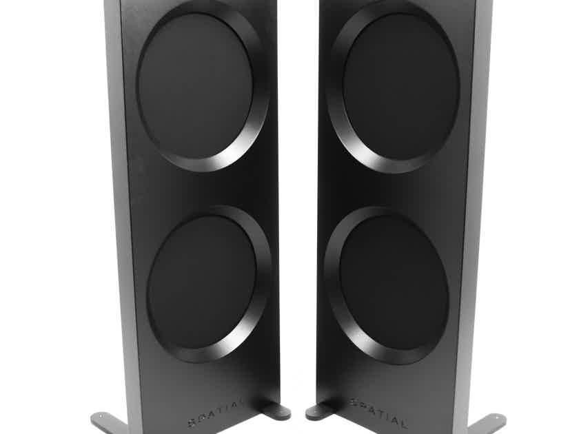Spatial Audio M3 Turbo S Open Baffle Floorstanding Speakers; Pair; Hologram (22690)