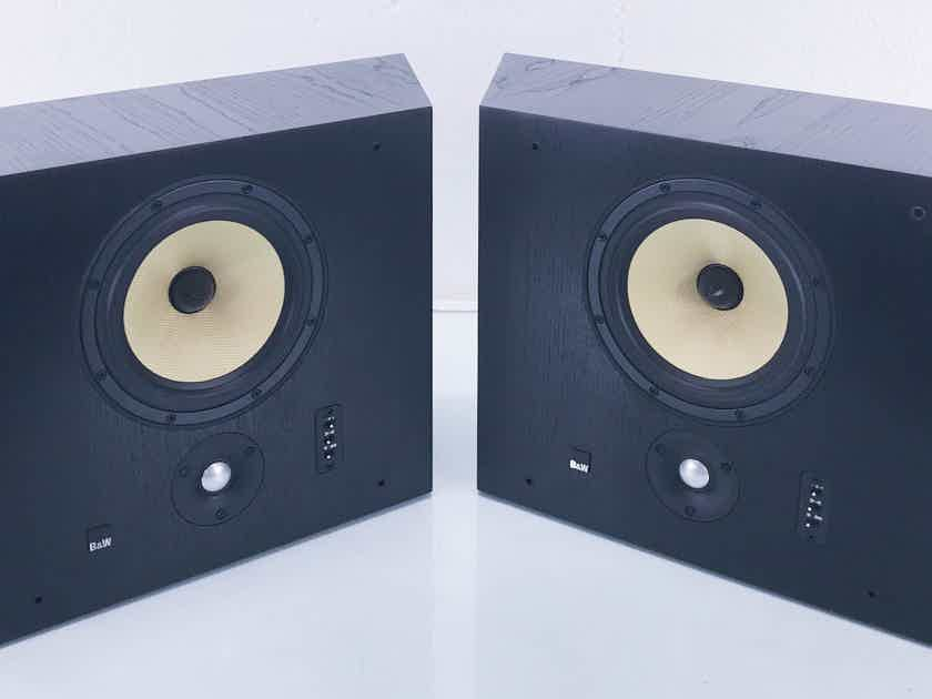 B&W DS8 Wall-Mount Surround Speakers Black; Pair Product (10712)